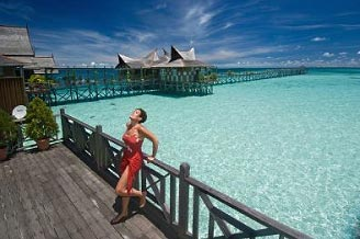 Miss Scuba @ Mabul Water Bungalows