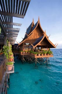 Mabul Water Bungalows Villas