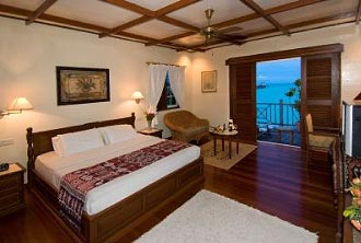 Mabul Water Bungalows Luxury Room