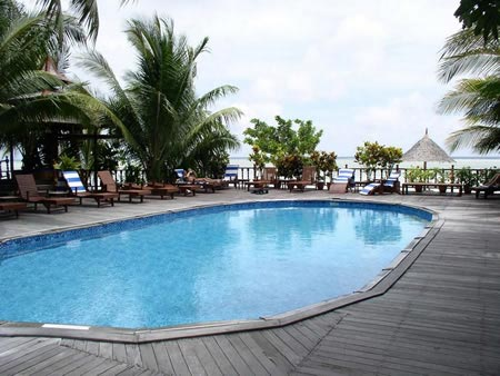 Sipadan Mabul Resort Swimming Pool