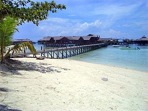 Sipadan Water Village Beach