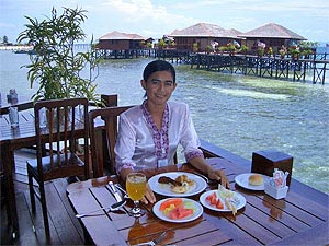 Sipadan Water Village Dining