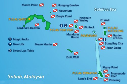 Pom Pom Island Dive Sites